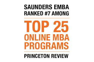 #7 Online MBA Program in Princeton Review