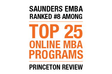 #8 Online MBA Program in Princeton Review