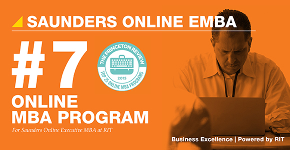 Online MBA Program Ranked by Princeton Review