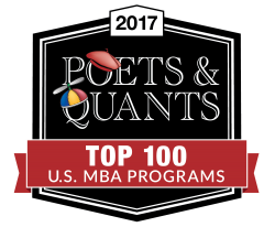 Poets & Quants The Definitive List Of The Top 100 U.S. MBA Programs of 2017