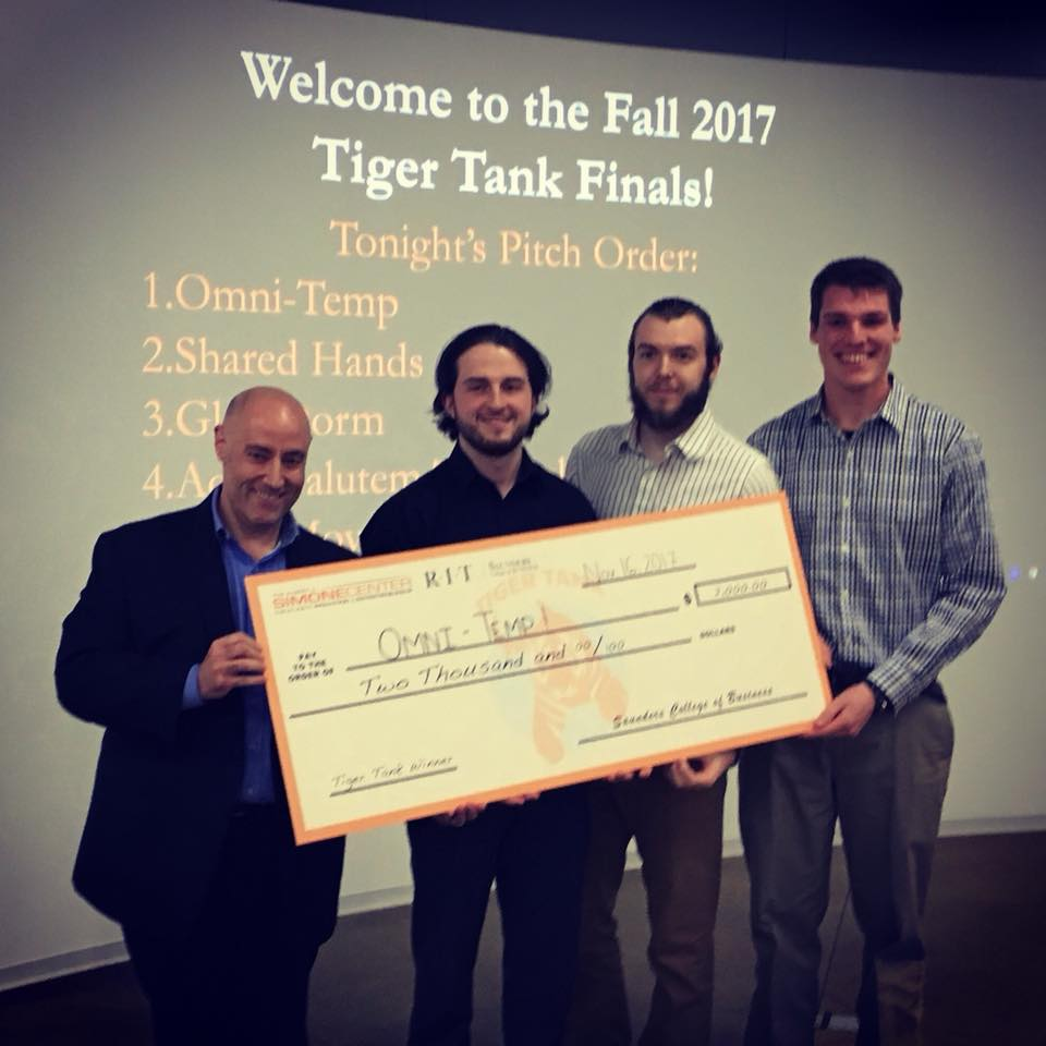 Omni-Temp- Fall 2017 Winners of Tiger Tank