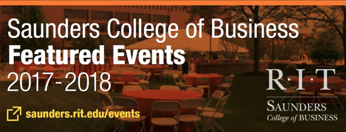 Saunders College Featured Events