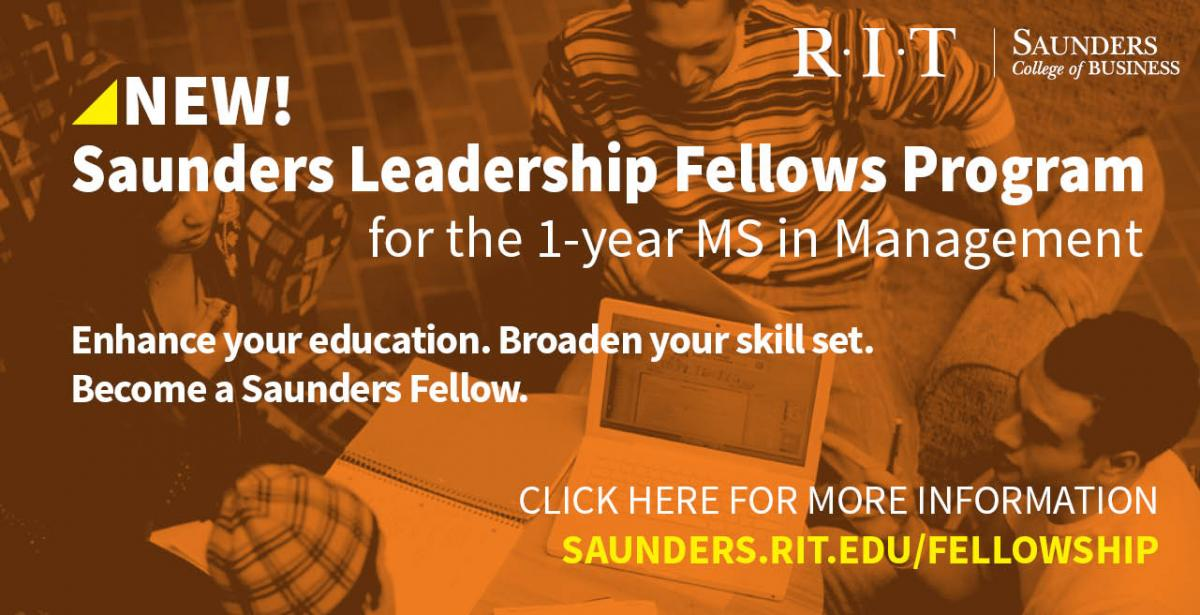 Saunders Leadership Fellow Program