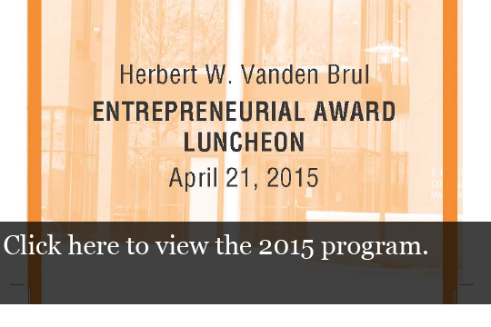2015 Vanden Brul Program
