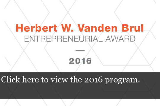 2016 Vanden Brul Program