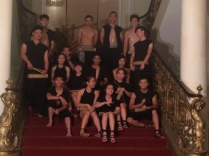 Photo 4: The acrobat show crew