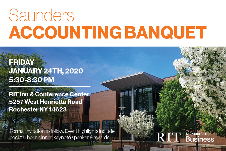 Saunders Accounting Banquet 2020