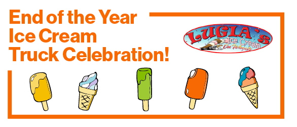 End of the Year Ice Cream Truck Celebration