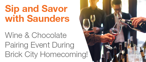 Sip & Savor with Saunders College of Business!