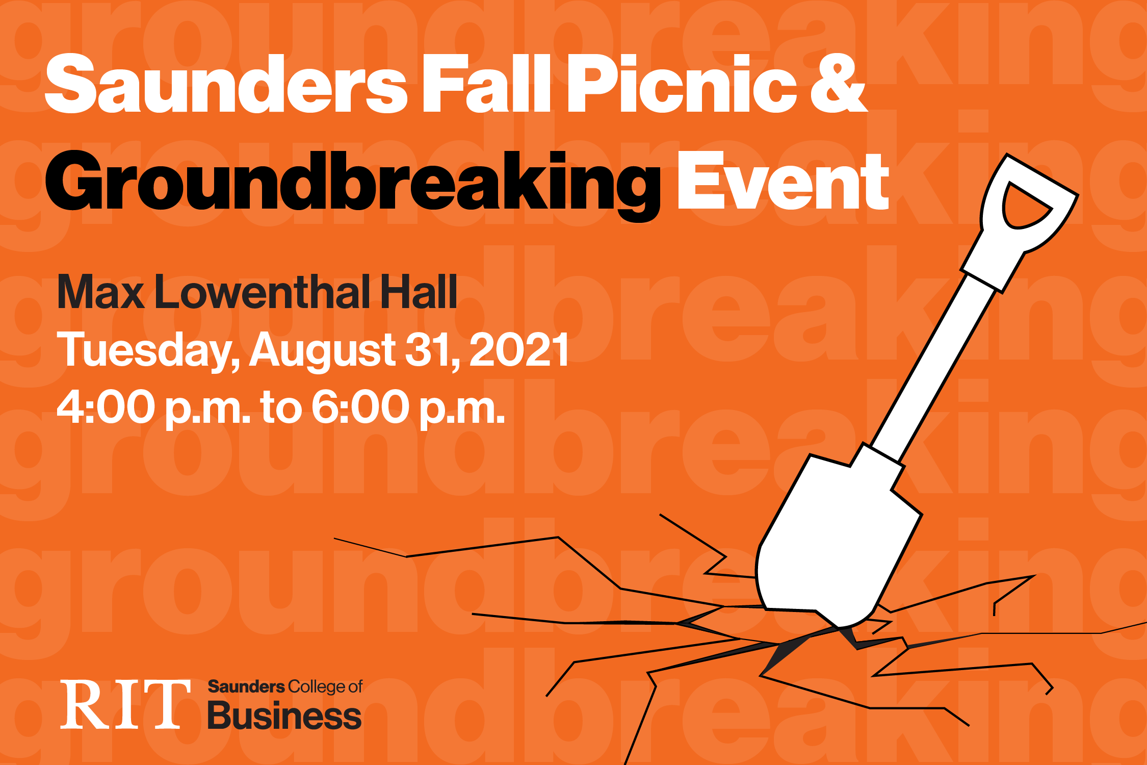 Saunders College of Business Expansion Groundbreaking and Picnic