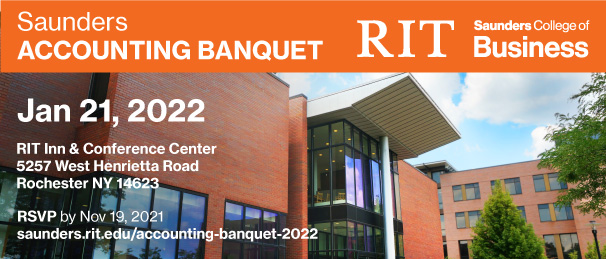 Saunders Accounting Banquet