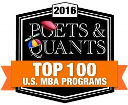 Saunders College ranks #96 for MBA
