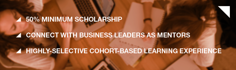 Click here for 50% scholarship details!