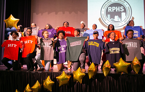 100 percent college-bound: RIT helps prep Rochester seniors for next step