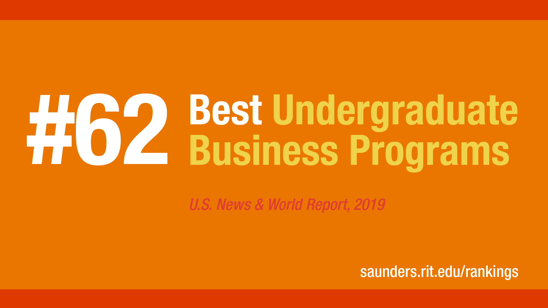 Best Undergraduate Business Program #62