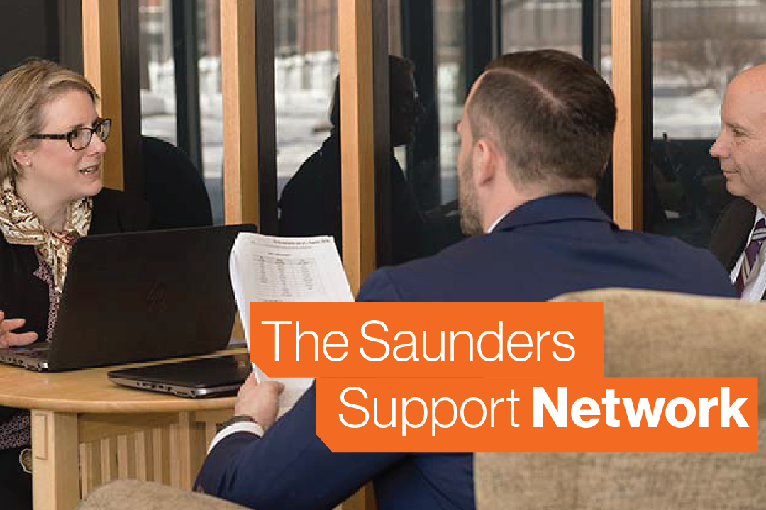How to Use the Saunders Support Network