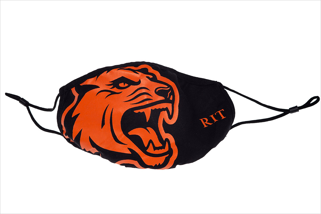 RIT's Tiger Spirit hits campus with branded face coverings