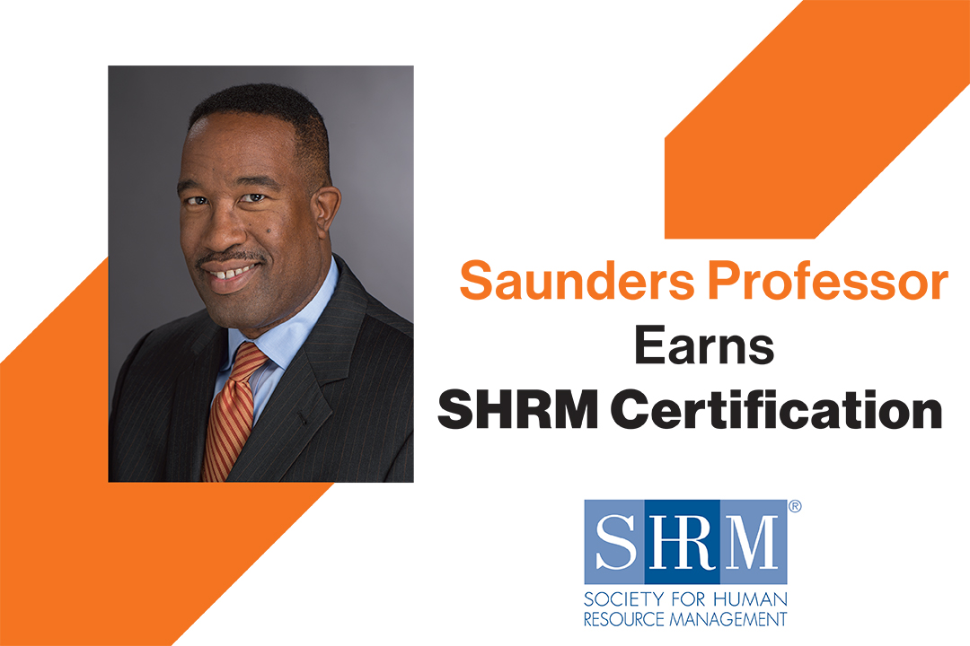 Q and A: Human Resource Development Professor Torrence Sparkman earns SHRM Certification