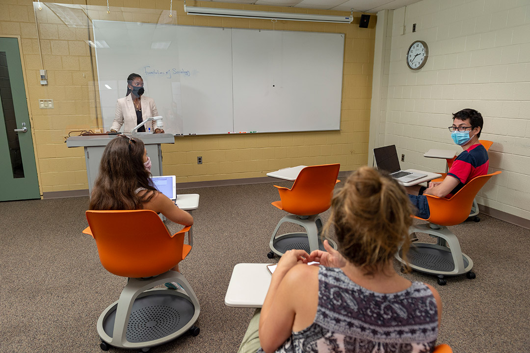 RIT course schedules near completion