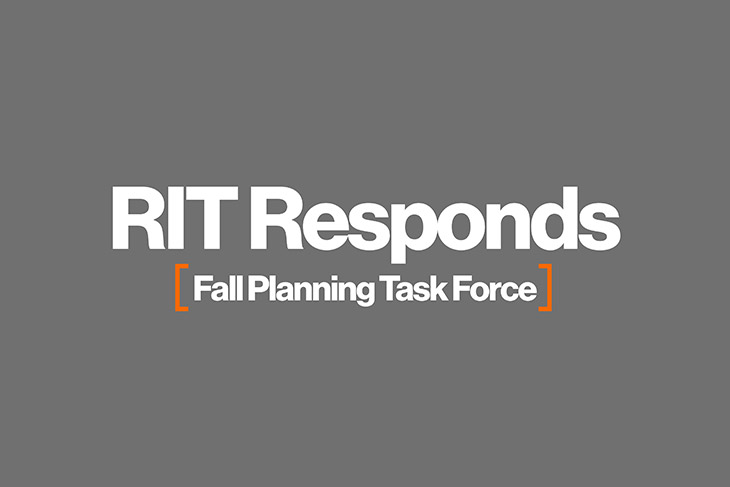 RIT announces Fall Planning Task Force