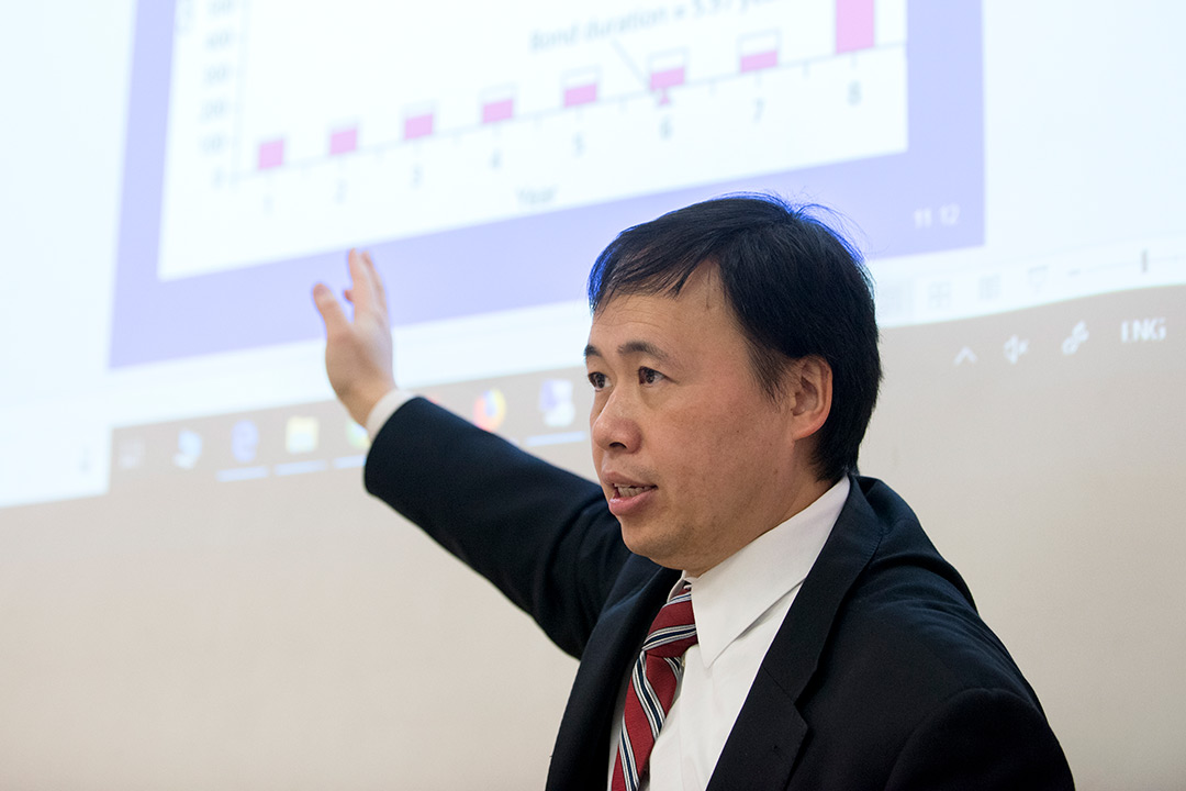 Eisenhart award winner Hao Zhang is passionate about preparing students for careers