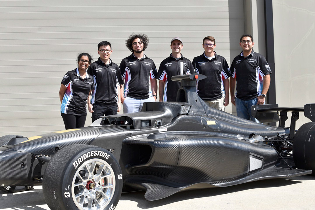 Students make finals—and history—as part of autonomous race at Indianapolis Speedway