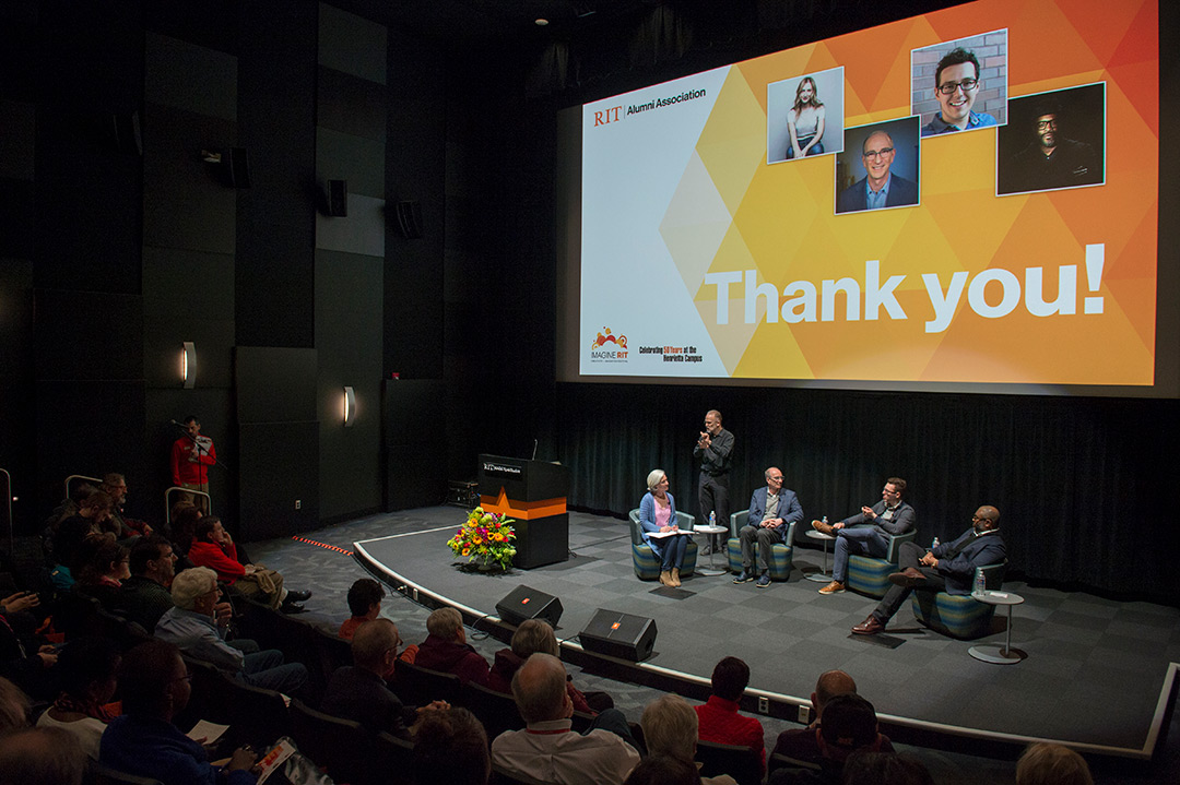 RIT 'futurists' discuss blending of technology and creativity at first-ever Imagine symposium