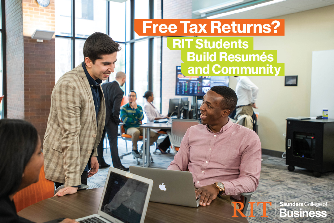 Free Tax Return help? Building Resumes and Community