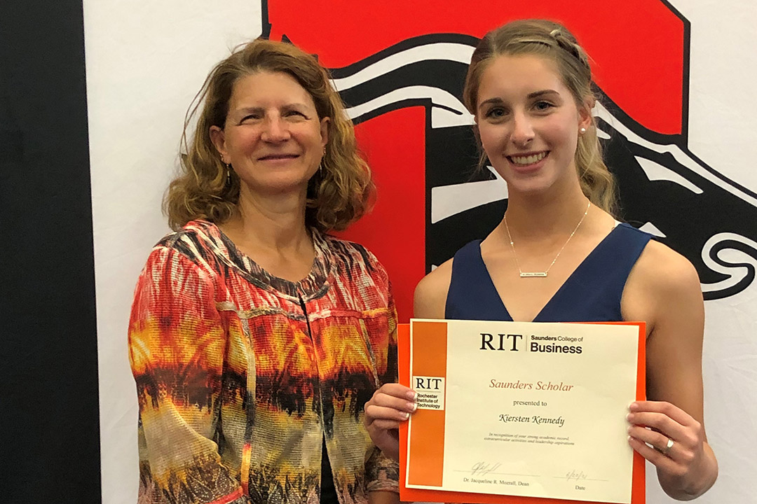 Livingston County students awarded Saunders College endowed scholarships to attend RIT