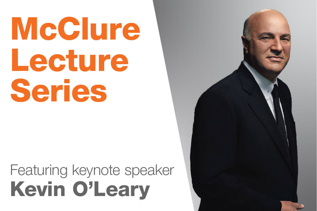 Shark Tank's Kevin O'Leary will kick off RIT's J. Warren McClure Lecture Series