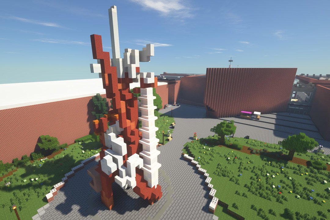 Students use 'Minecraft' to recreate a digital RIT campus