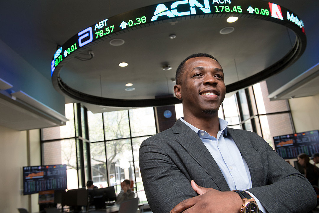 Harnessing opportunities drives Saunders College graduate to succeed
