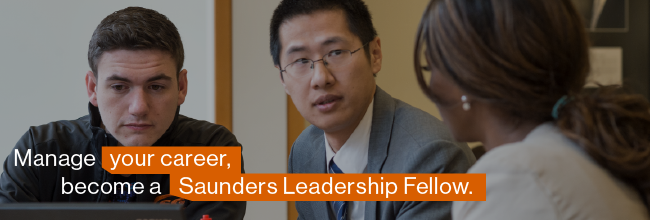 Saunders Leadership Fellows Program