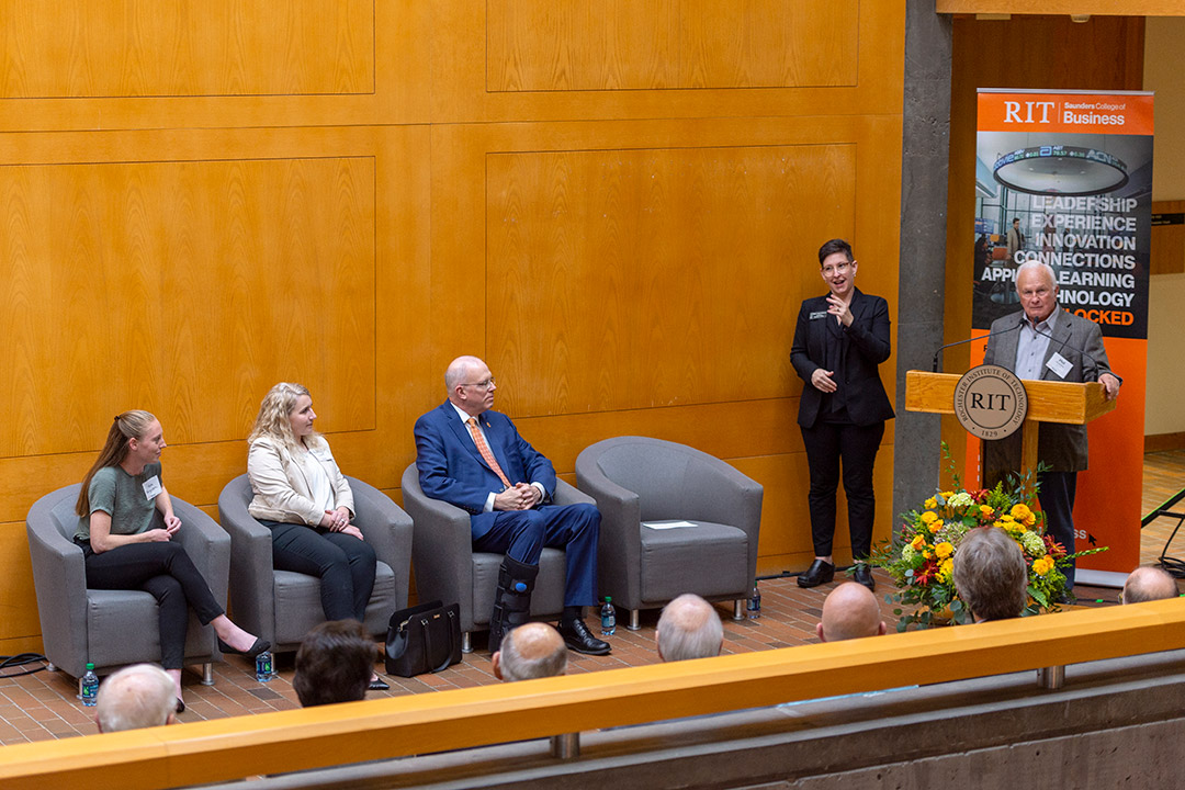 E. Philip Saunders gifts $7.5 million to RIT