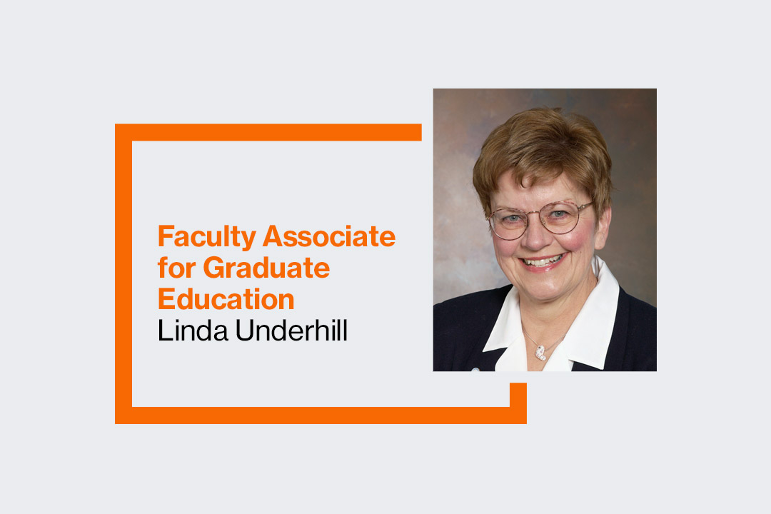 Linda Underhill fills new liaison position in Office of Graduate Education