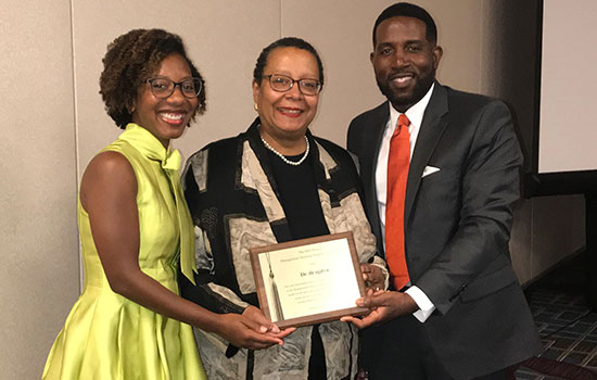 RIT Saunders College of Business distinguished professor earns Trailblazer Award