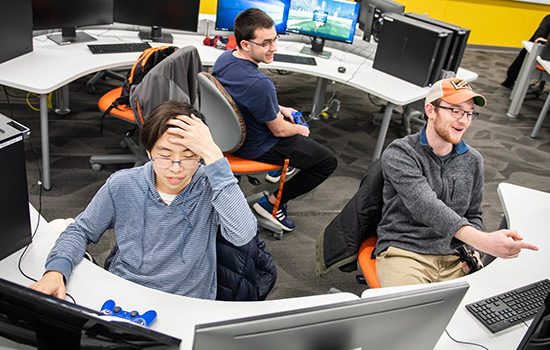 RIT Esports levels up with new national collegiate league and esports lounge