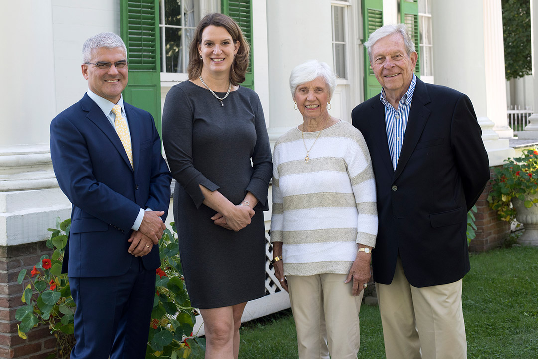 RIT and Genesee Country Village  Museum seal partnership with $1.3 million gift
