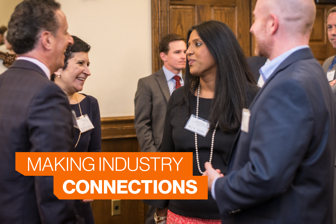 Make Industry Connections at Saunders