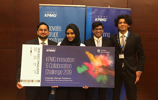 RIT Dubai students advance to global KPMG Innovation and Collaboration Challenge finals