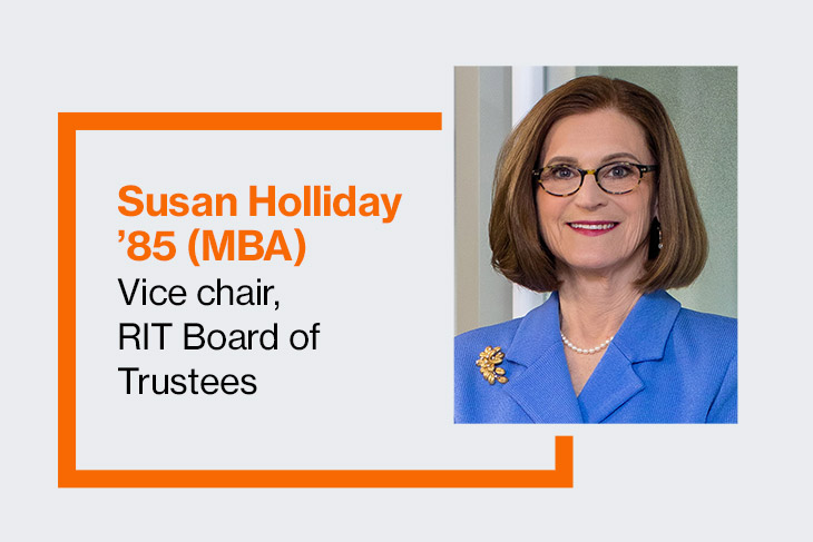 RIT alumna Susan Holliday '85 donates $1.25 million to Saunders College of Business expansion