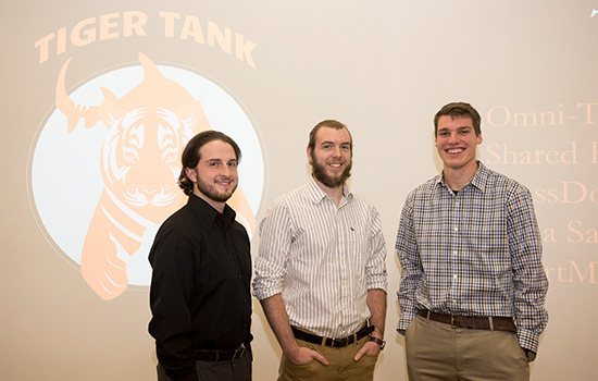RIT students win big at Simone Center's Tiger Tank