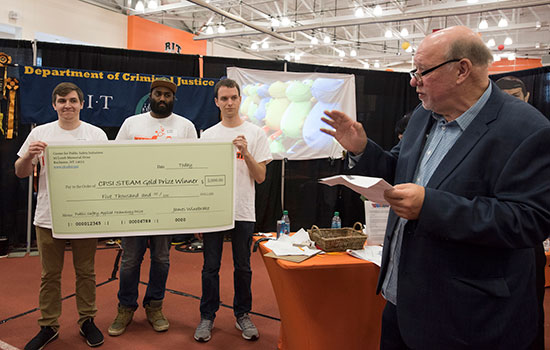 Developers of emergency mass notification clock win RIT's first STEAM contest