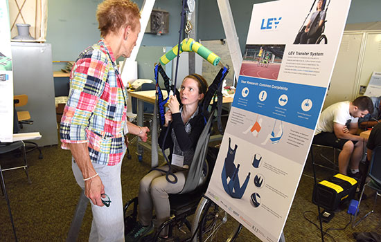 RIT's Studio 930 connects students with community partners to create life-changing assistive products