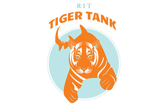 RIT students take the plunge into the Tiger Tank on April 5